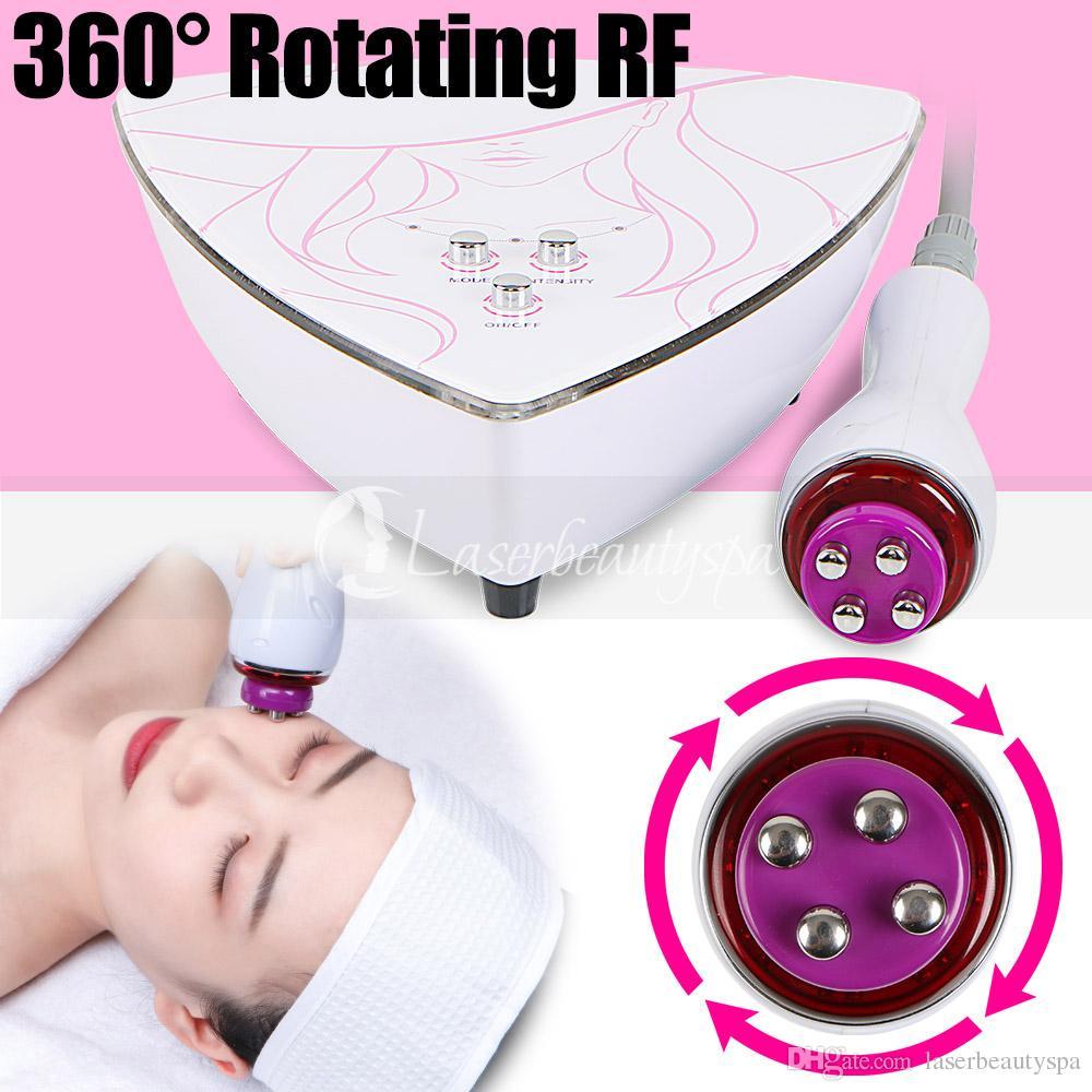 Jeder kann ein professioneller Kosmetiker sein, 360 ° rotierende RF Hochfrequenz Hautverjüngung Facelift Schönheit Maschine