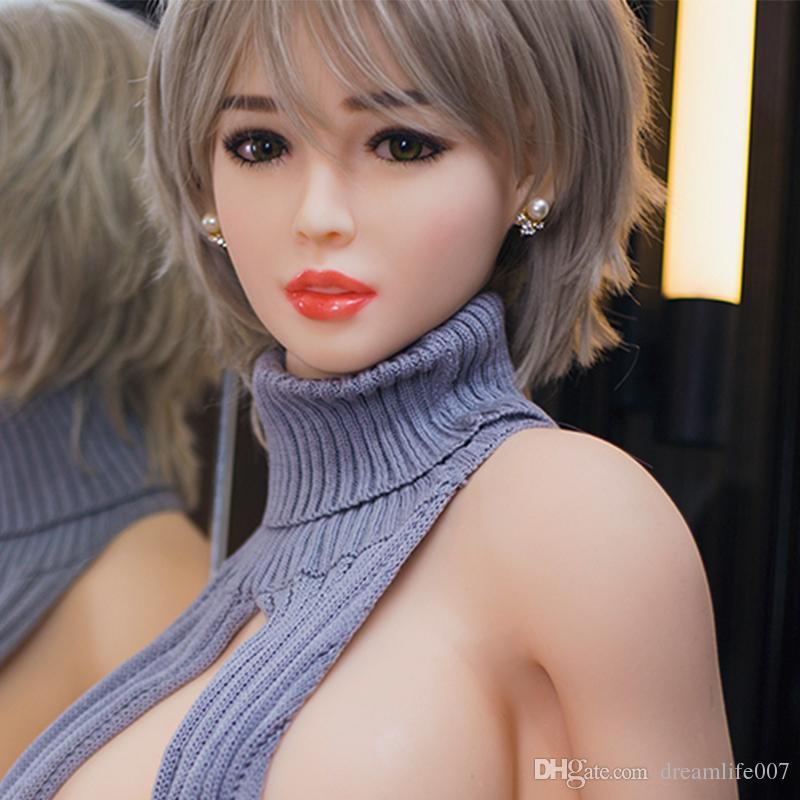 مصنع جودة عالية اليابانية سيليكون دمية الحب دمية الجنس الكبار واقعية ، سيليكون دمية الجنس الحقيقي للرجال مع هيكل عظمي ، دمى الاستمناء