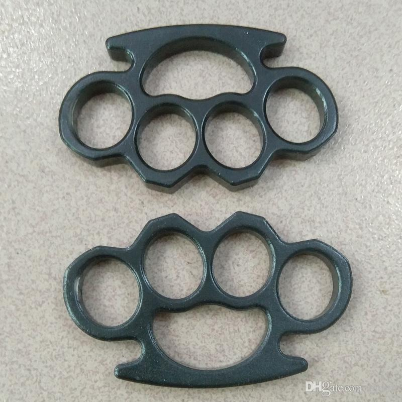 Thick and heavy 2pcs 13mm thickness STEEL BRASS KNUCKLE DUSTER self defense tool brass knuckle clutch 2pcs