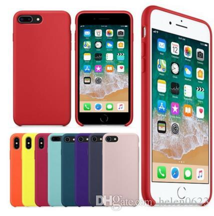 Silicone Case For IPhone X 7 8 Plus
