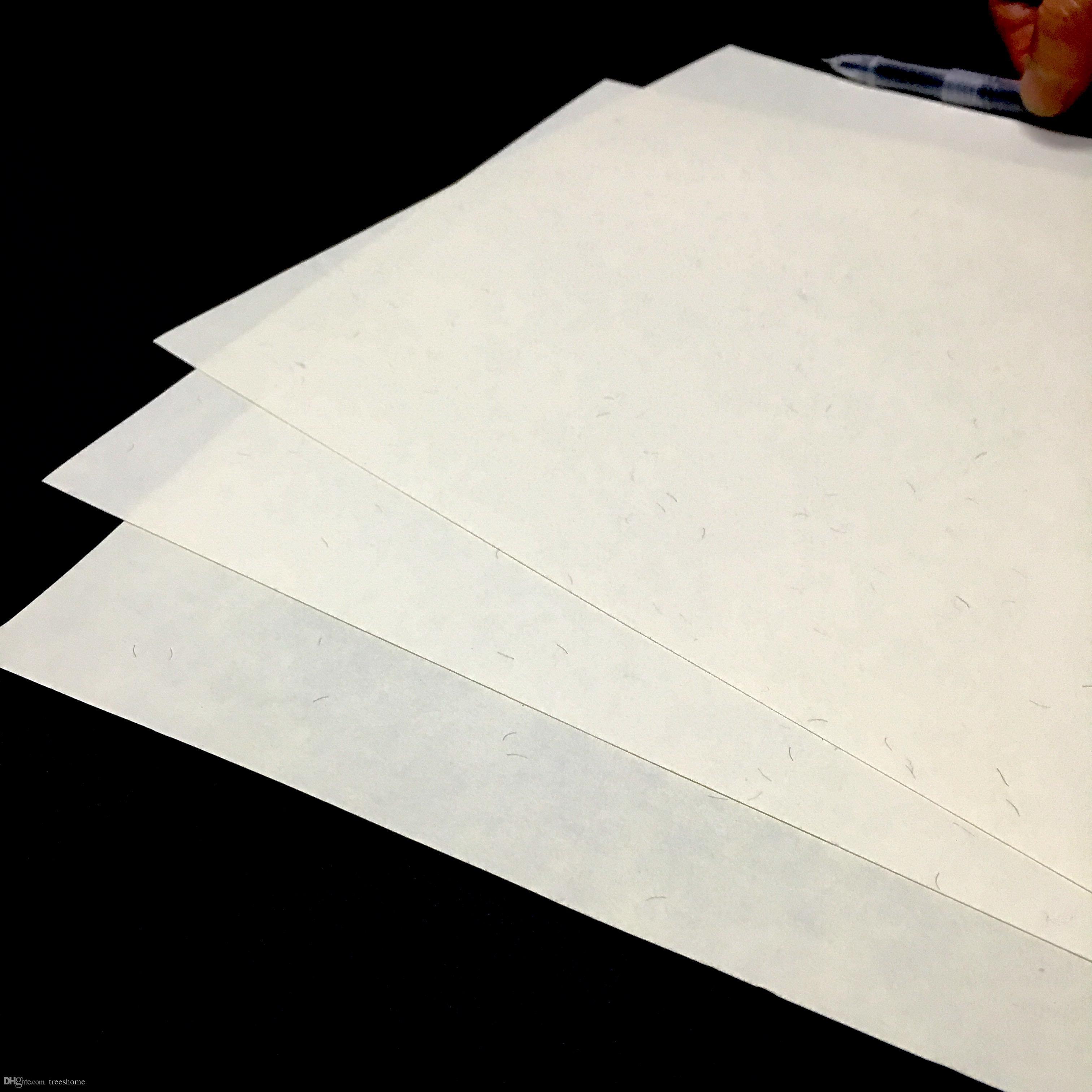 75% algodón, 25% lino, color marfil, papel A4, con fibra redblue, StarchAcid, 85gsm impermeable para imprimir billetes / billetes / dinero / certificado