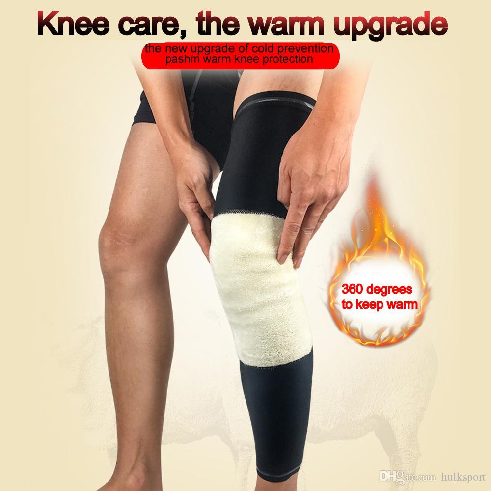 Lady Warmer kneepad Alongado e Mais Grosso elástico pashm proteção do joelho quente manter as mangas da perna mais quentes tamanho M L XL Frete Grátis