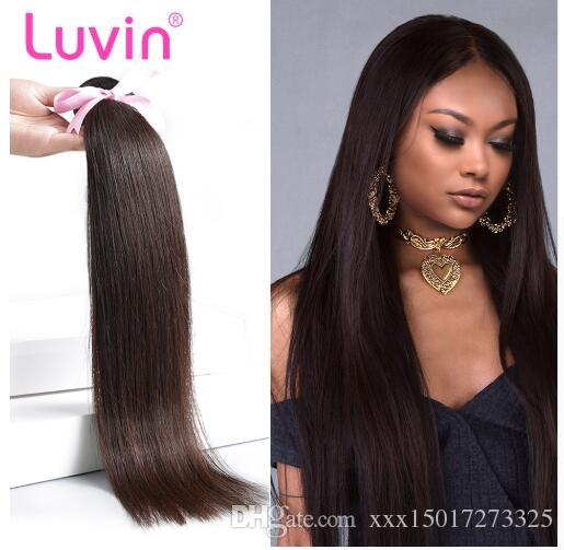 Brazilian Hair Weave Bundles Straight 100% Human hair 30 Inch Bundles Natural Color Remy Hair Weft Hairs Extension