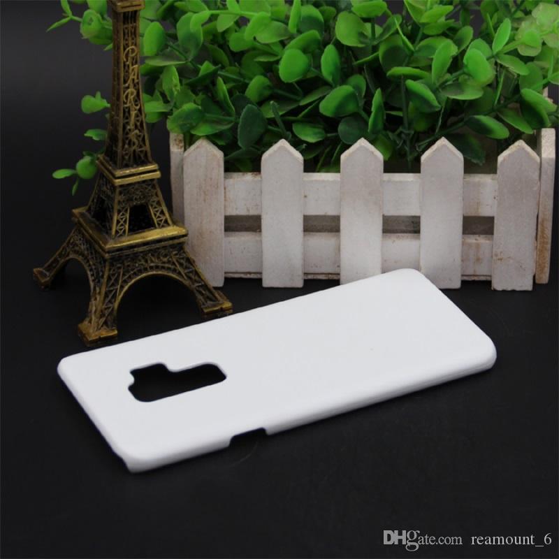 Samsung Note S7 Kenar Isı Baskı İçin 8 9 S8 S9 Artı 3D Süblimasyon Sert PC Mat Kılıf Blank Beyaz Telefon Kılıfı
