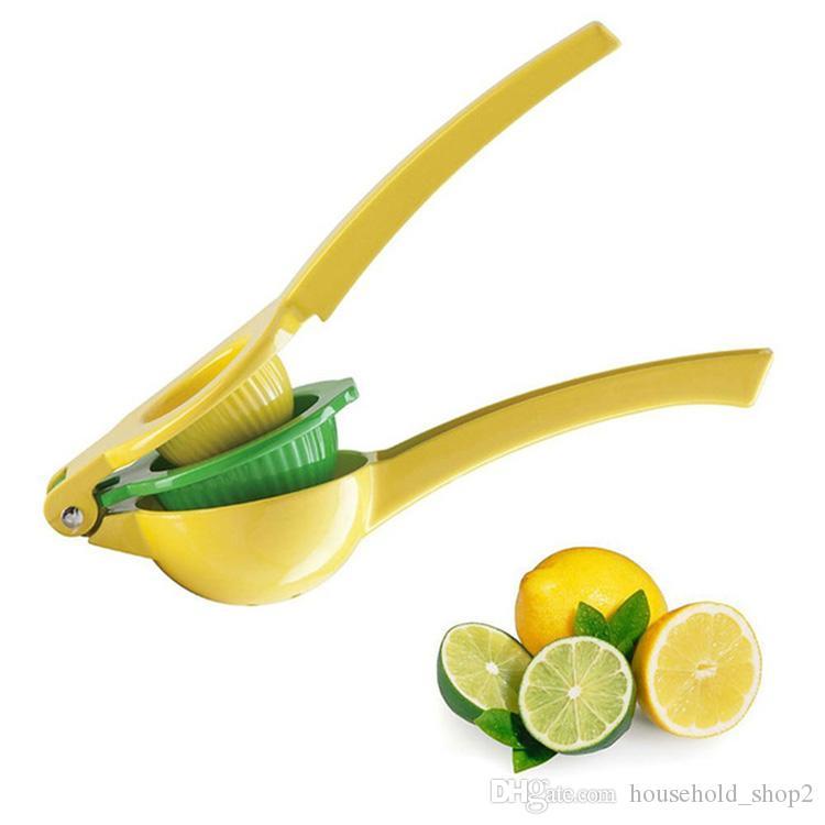 Ręczne narzędzia do sokowarek cytrynowy 2 w 1 ręce przetrzymywane cytryna pomarańczowy Citrus Squeezer Owoce Kuchnia Narzędzia