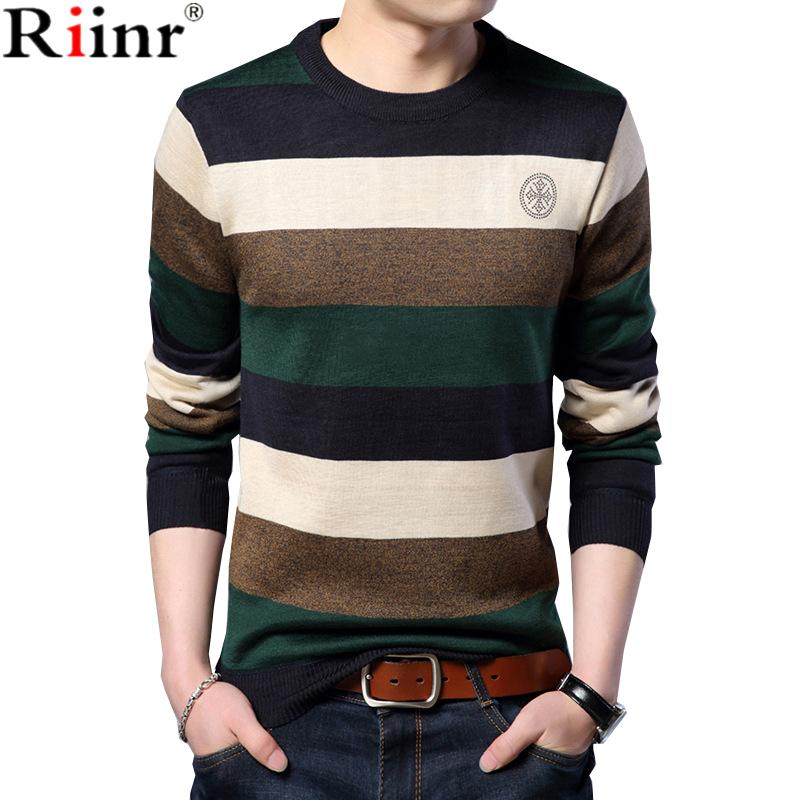 Freely Mens Long-Sleeve Knit Casual Thick O-Neck Sweater Pullover
