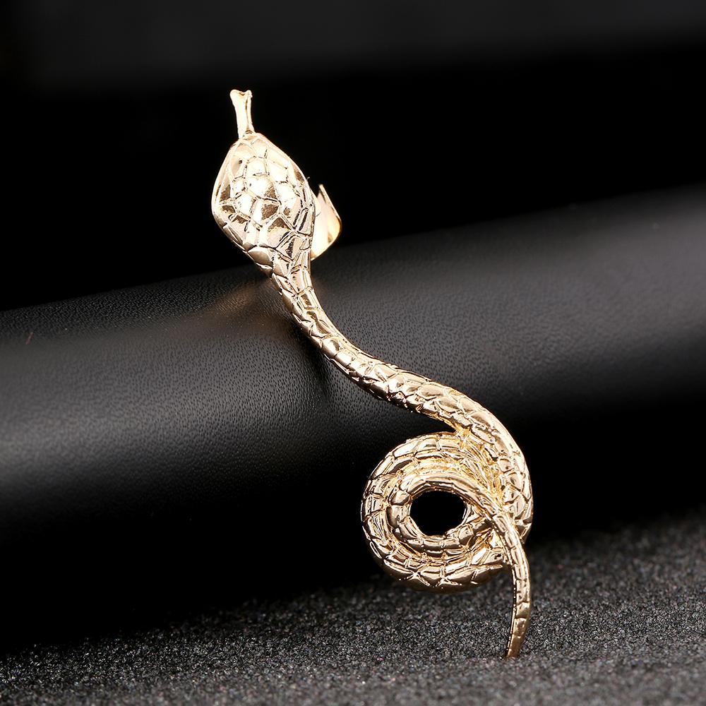 Fashion Animal shape snake Left Right Silver Gold Earring Clip Ear Cuffs Earring Jewelry FY016