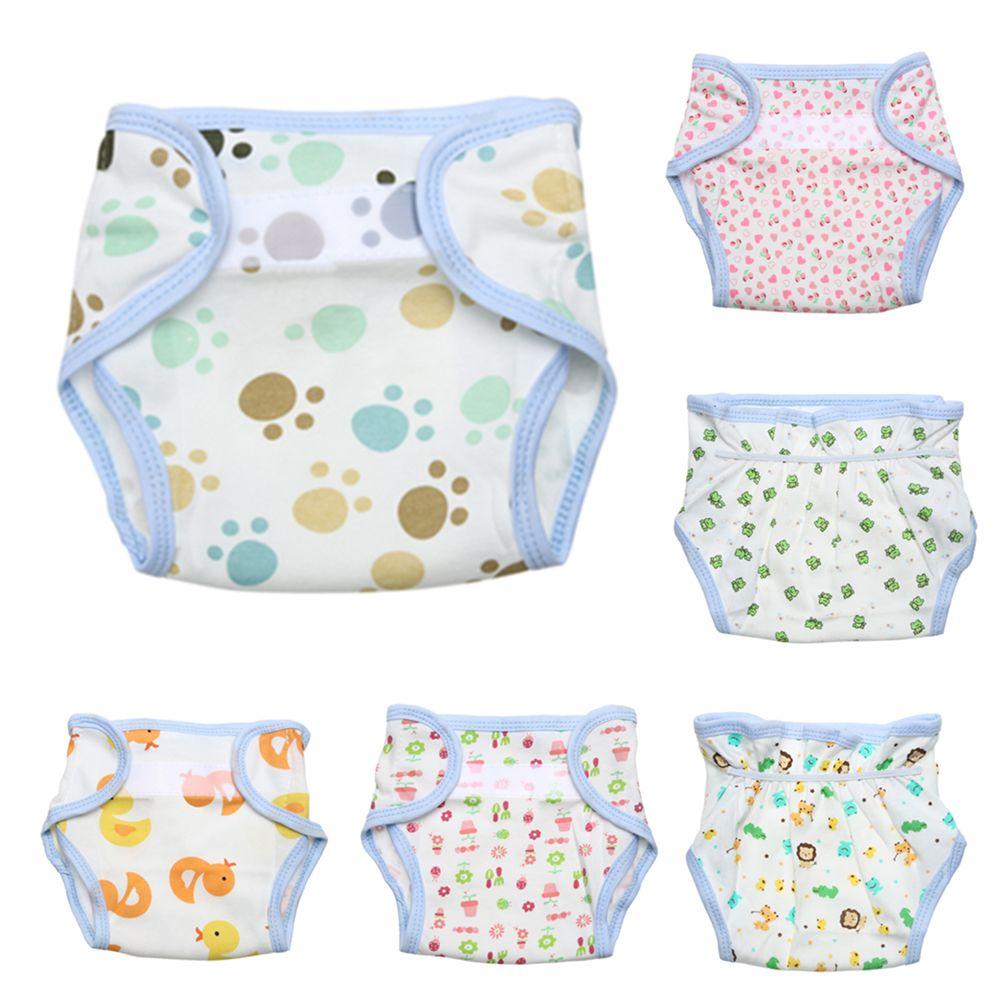 Lavable Bébé Couches Lavables Enfant Enfants Sous-Vêtements Couches Réutilisables Formation Pantalon Culotte pour la Formation de Toilette Enfant Bébé Couches