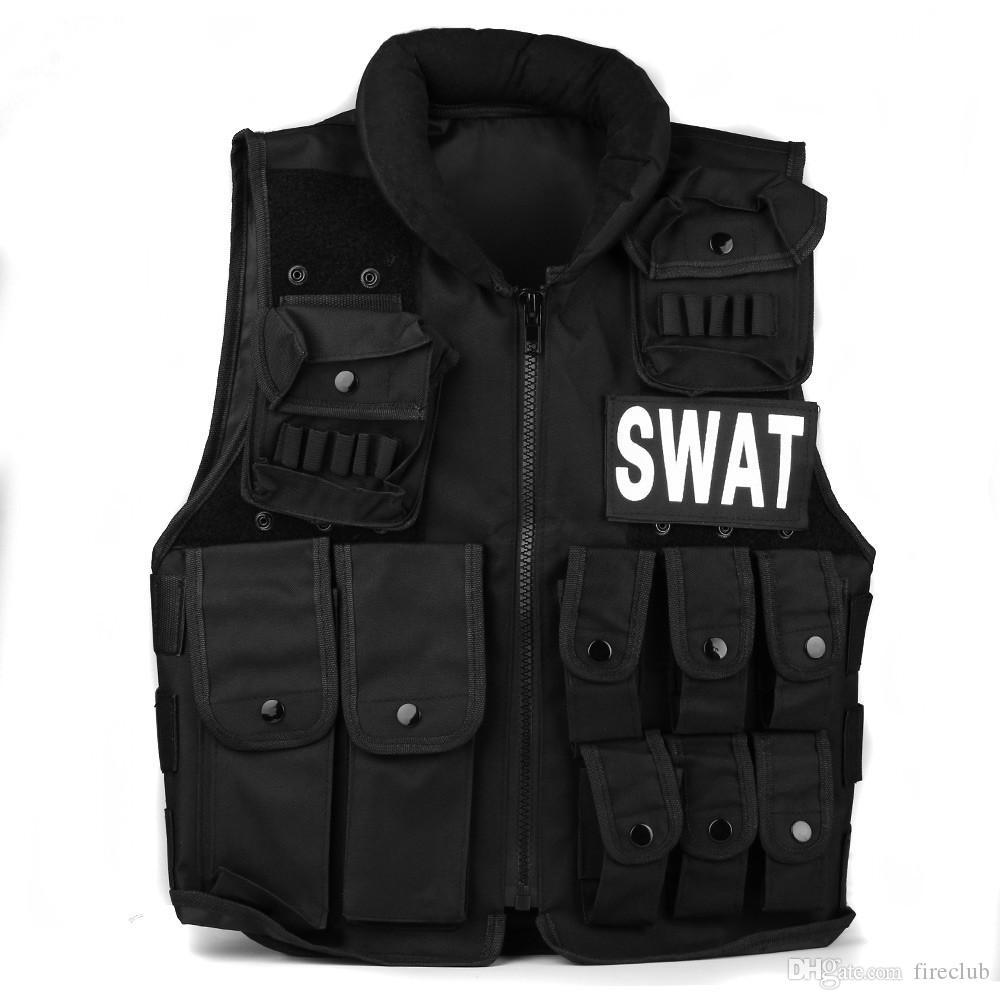 100% Come film Combat Tactical Vest outdoor gear maglia U.S. Secret SWAT maglia CS campo attrezzature