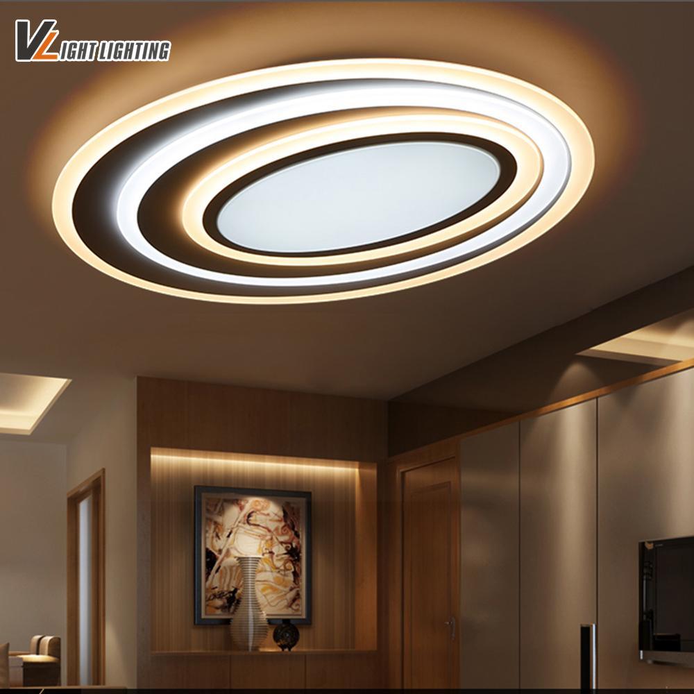 купить оптом светодиодные современные потолочные светильники с затемнением пульт дистанционного управления для спальни гостиная бар кофейня новый