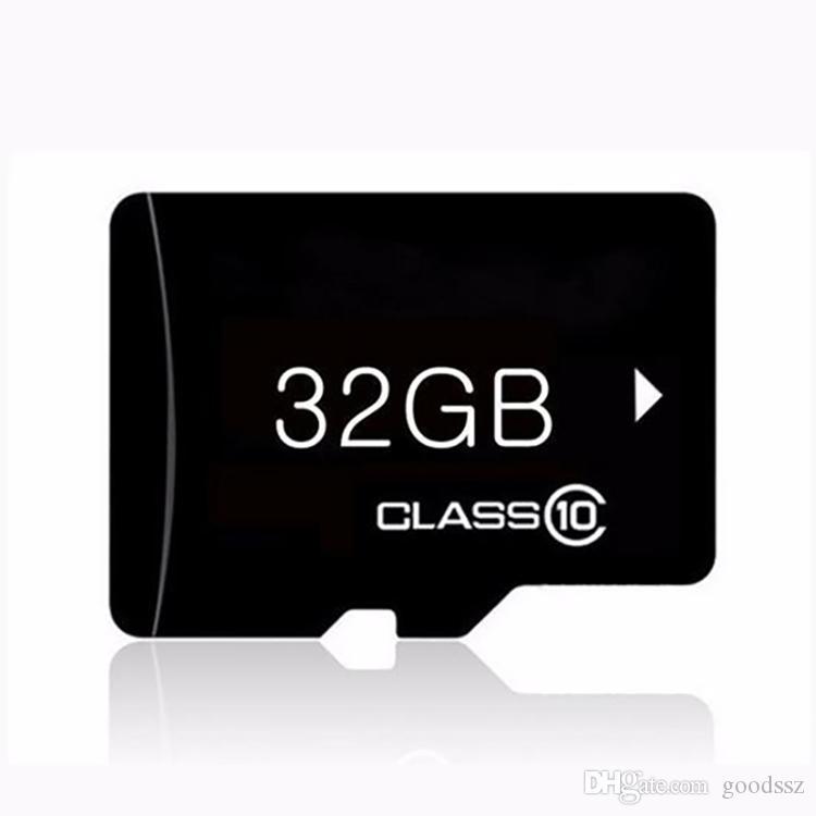 실제 용량 32GB 메모리 카드 클래스 10 TF 휴대 전화 용 어댑터 MP3 / 4 플레이어 태블릿 PC