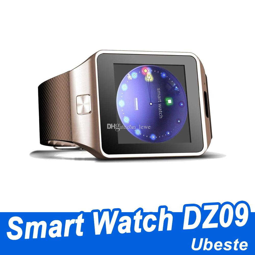 DZ09 Bluetooth smart watch for apple watch android smartwatch for iPhone Samsung smart phone with camera dial call answer Passometer free