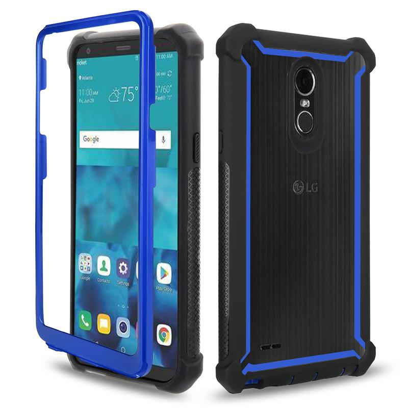 timeless design 6481d 3a38a For LG Stylo 4 Case Full Body Clear Soft TPU Hard PC Back Cover Phone Case  For LG Stylo 4 Cell Phone Wallet Case Leather Phone Case From Tours, $2.04|  ...