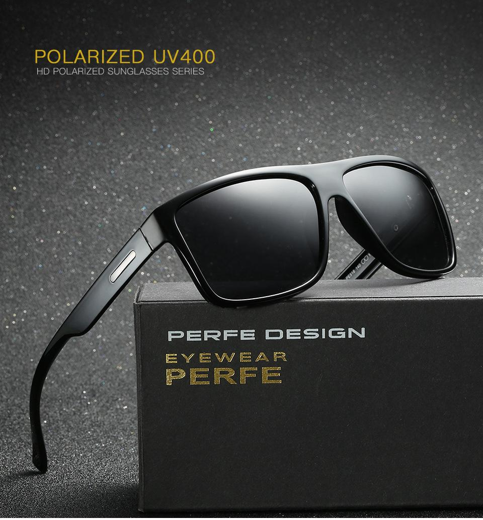 New Polarized Sunglasses Mens Outdoor Driving Fishing UV400 Mirrored Glasses