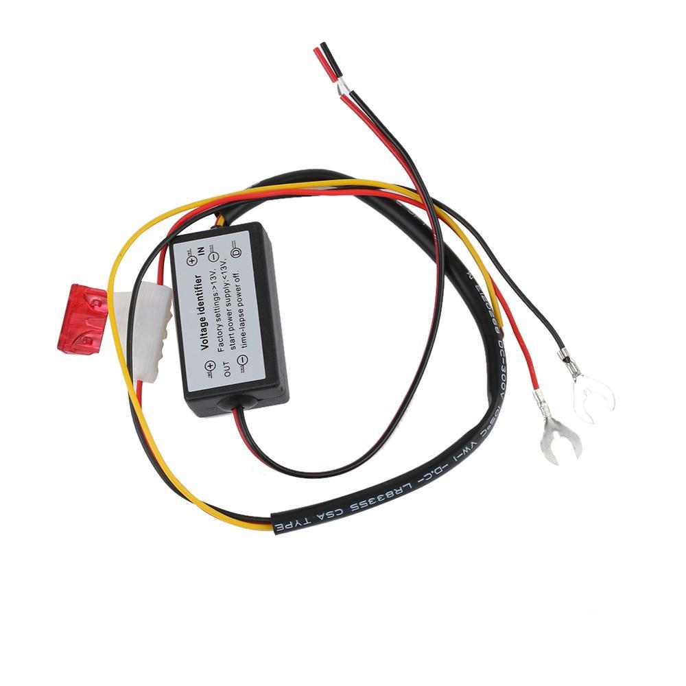 DRL Controller Auto Auto LED Tagfahrlicht Controller Relais Harness Dimmer Auf / Ab 12-18 V Nebelscheinwerfer Controller