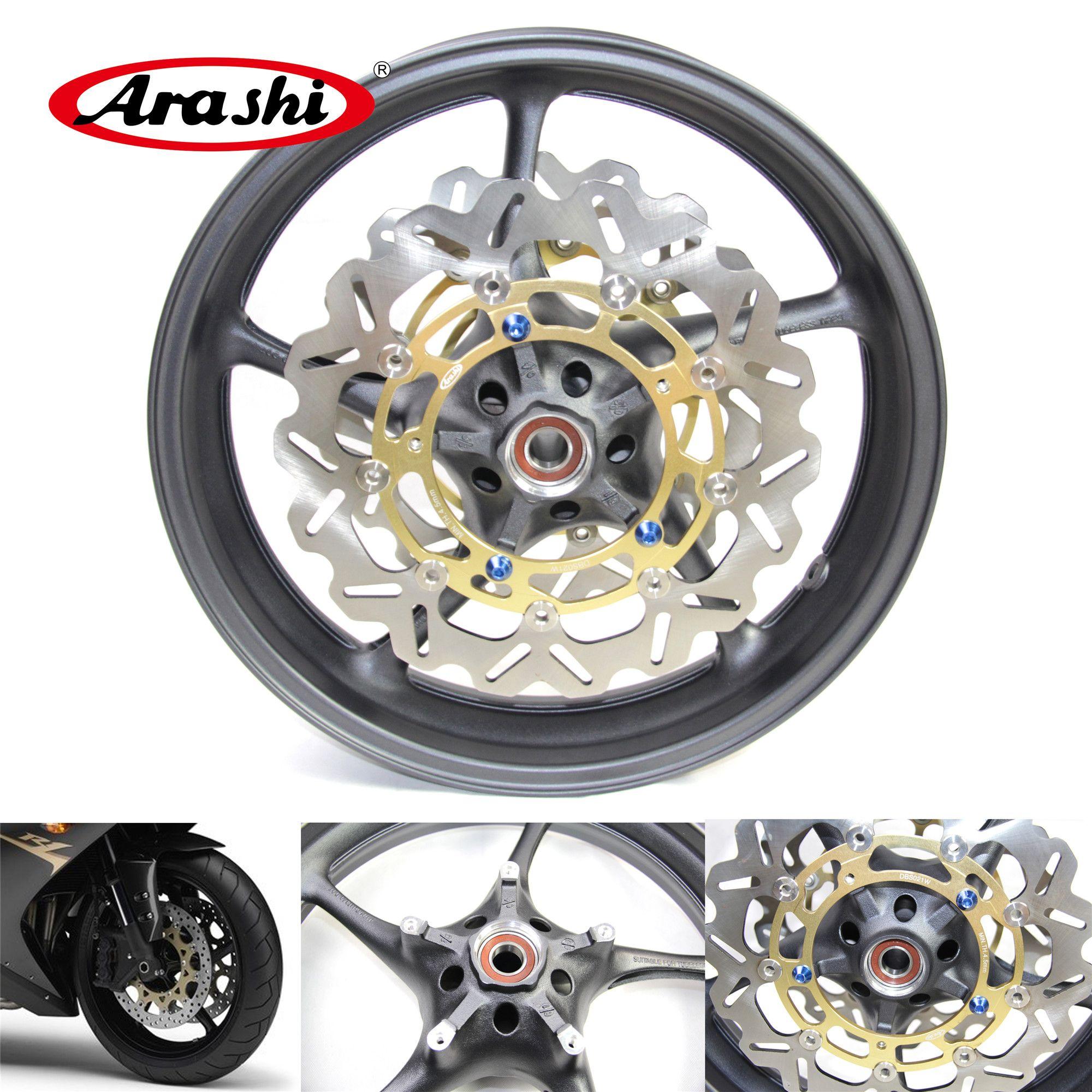 Arashi For Yamaha YZF R6 2006 - 2012 Front Wheel Rim Brake Disc Disk Rotor Motorcycle Parts 2007 2008 2009 2010 2011 YZF-R1 YZF-R6