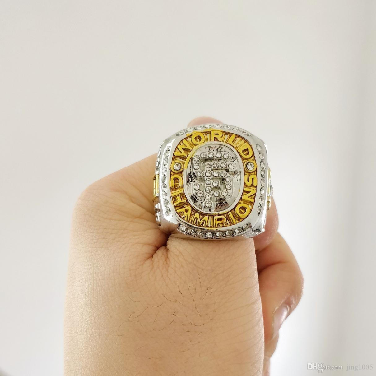 Nuovo arrivo Champions anello 2010 San Francisco Giant s World Championship Anello Fan regalo all'ingrosso di alta qualità Drop Shipping
