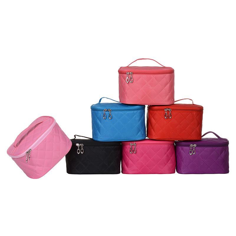 Yeni Kore Lingge Kozmetik Çantası lady su geçirmez yıkama saklama çantası açık seyahat multi-fonksiyonel yıkama torbası toptan