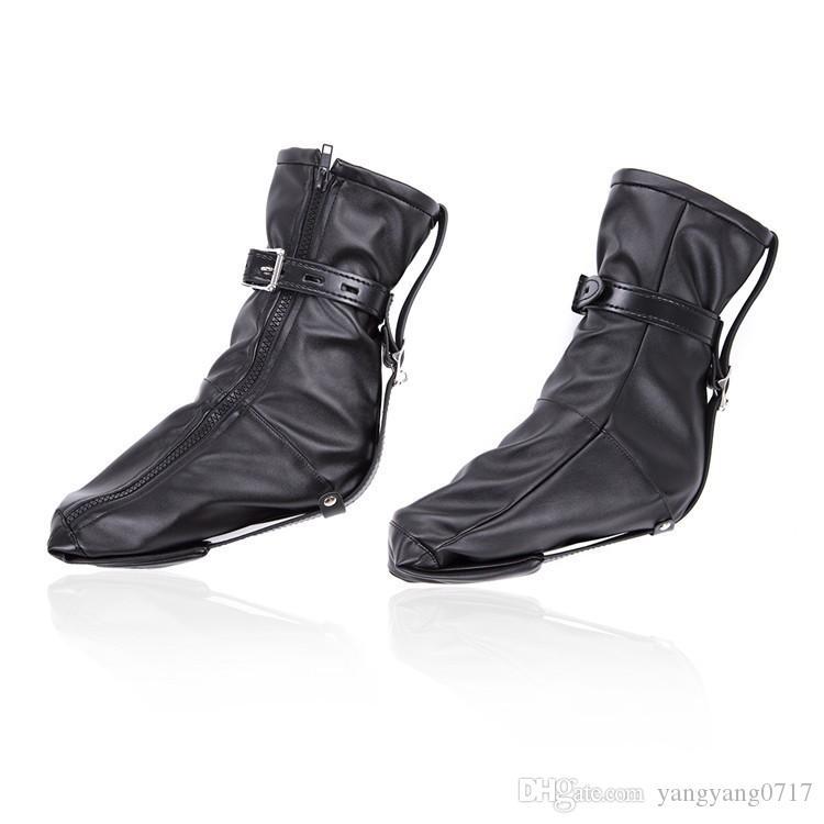Poignets de cheville Produits de sexe, BDSM Bondage Cuir PU souple Couvre-chaussure
