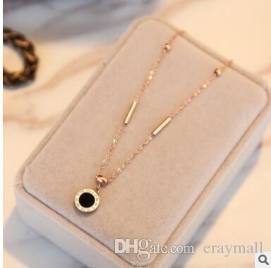 Bracelet en or rose 18 carats titane acier romain perles numériques perle pompon amour petite cloche cheville 16
