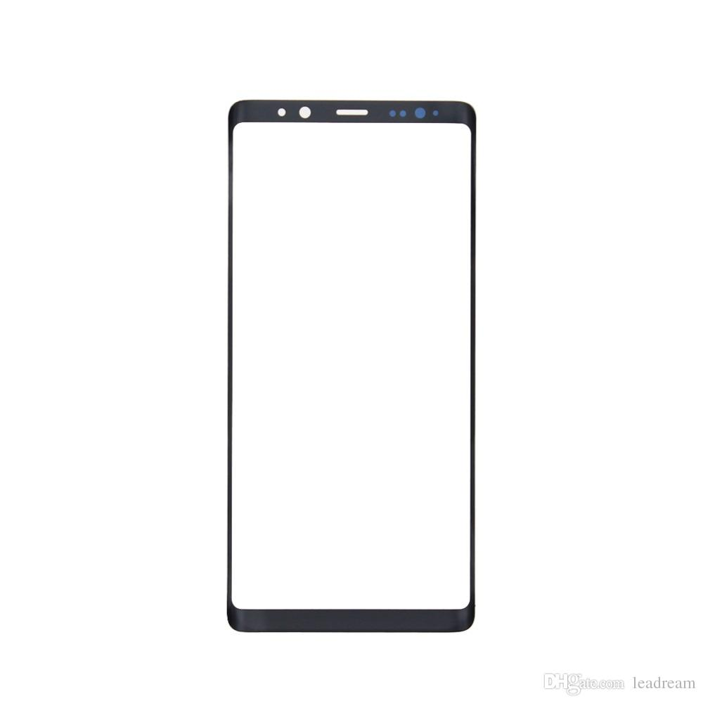 10PCS Original Black Silver Front Outer Touch Screen Glass Lens Replacement for Samsung Galaxy Note 8 N950A N950F free DHL