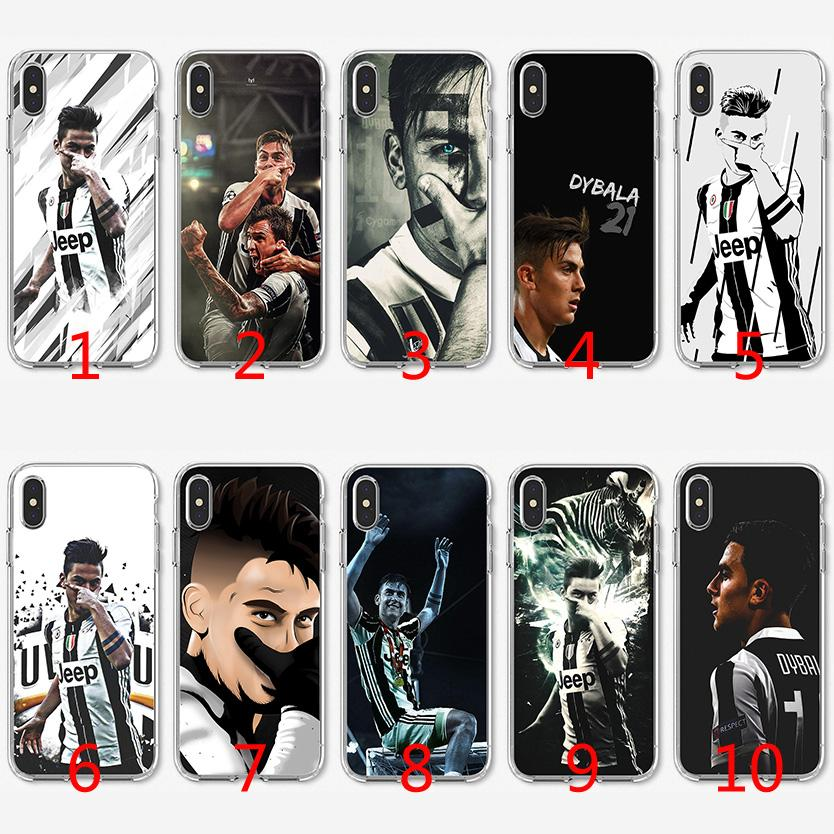 Paulo Dybala Star Soft Silicone TPU Case For IPhone X XS Max XR ...