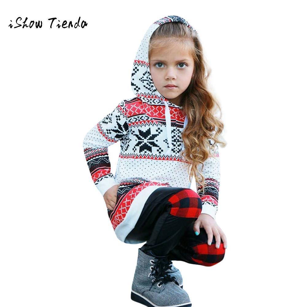 الفتيات ملابس عيد الميلاد طفل أطفال طفلة الراكون الشريط هوديي البلوز البلوز القمم ملابس عيد الميلاد