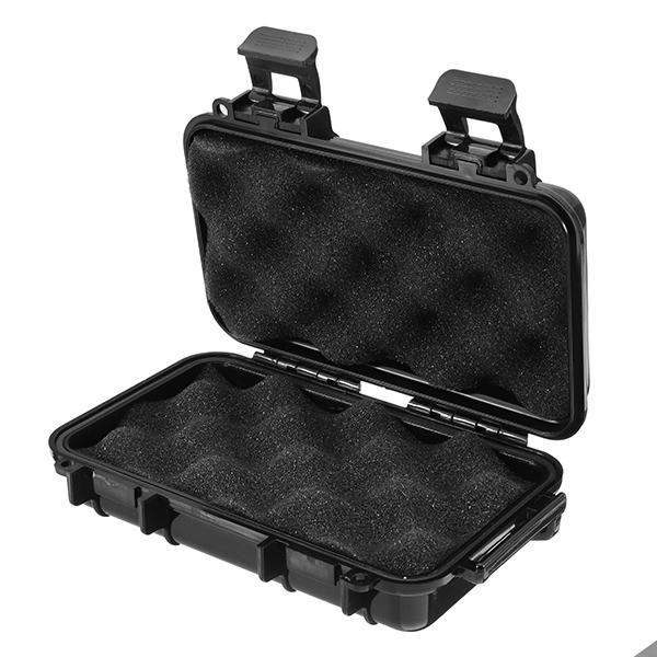 صندوق مضاد للماء لحالة صندوق الحماية في الهواء الطلق مناسب للمعدات الإلكترونية الصغيرة الصغيرة مع وسادة مطاطية مقاس M 190 * 120 * 52mm X049