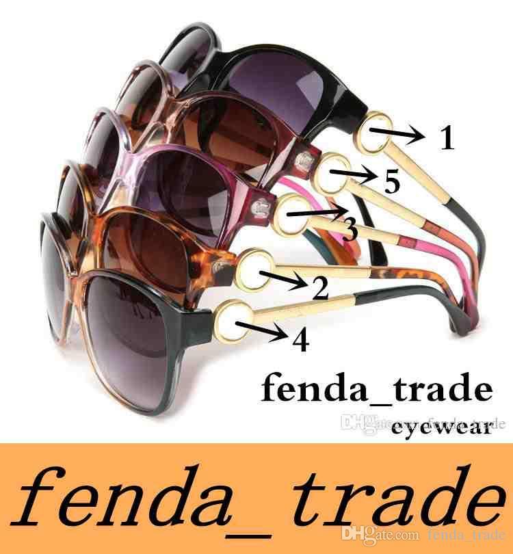 Marke Sonnenbrille Heißer Verkauf Mode Marke Designer Sonnenbrille Frauen Sonnenbrille Klassische Eyewear Große Rahmen Oculos