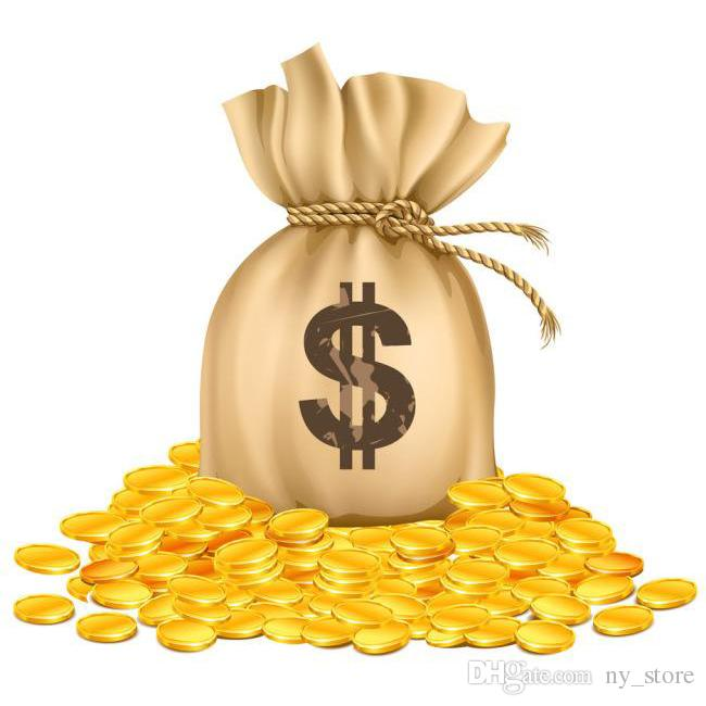 DHL 여분의 상자 수수료 비용은 주문 비용의 균형을 위해 개인화 된 맞춤형 제품 지불 돈을 주문 1 조각 = 1USD