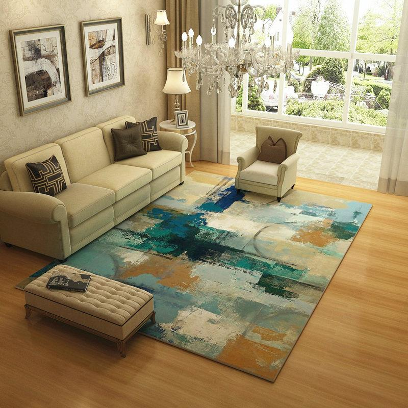 Europe Abstract Ink Carpets For Living Room Home Bedroom Rugs And Carpets  Brief Coffee Table Soft Floor Mat Study Area Rug Frieze Carpet Prices  Office ...
