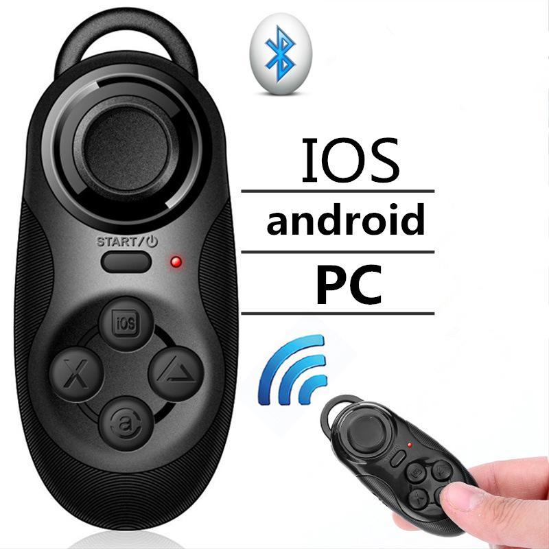 4 em 1 Bluetooth Autodyne Artefato Sem Fio Mini Game Controle Remoto Câmera Do Telefone Shutter Release Self Timer