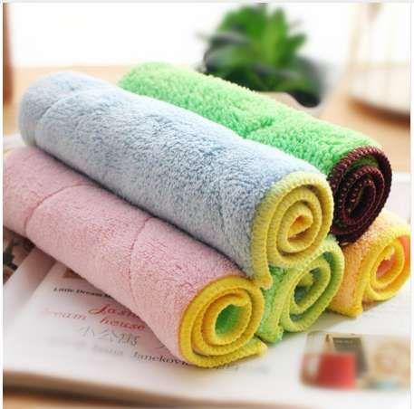 Kitchen Dish Cloths Microfiber Cleaning Cloth Towel Super Absorbent