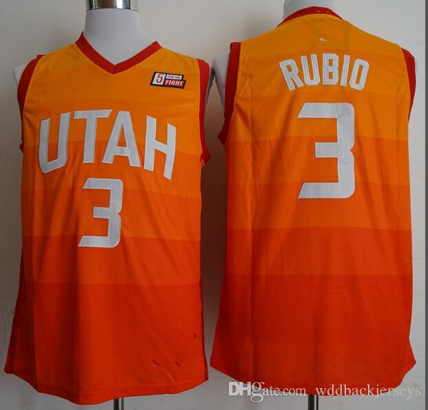 2018 New Utah Mens Youth 45 Donovan Mitchell 3 Ricky Rubio Jersey Jazz 27  Rudy Gobert 2 Joe Ingles Jerseys The CitY Adult Jerseys And Shorts UK 2019  From ... 5969a4fc1
