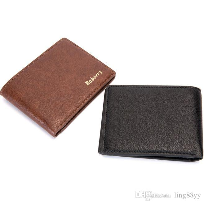 Men Wallets with Coin Pocket Small Wallet Purse For Men Clutch Fashion Male Wallet Zipper Money Clip Rfid Wallets Purses