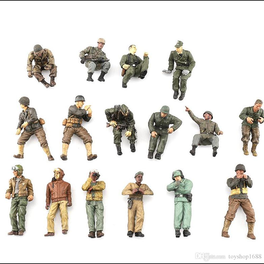 Random 5x 21st Century Toys The Ultimate Soldier FOV 1:32 WWII German Army Toys