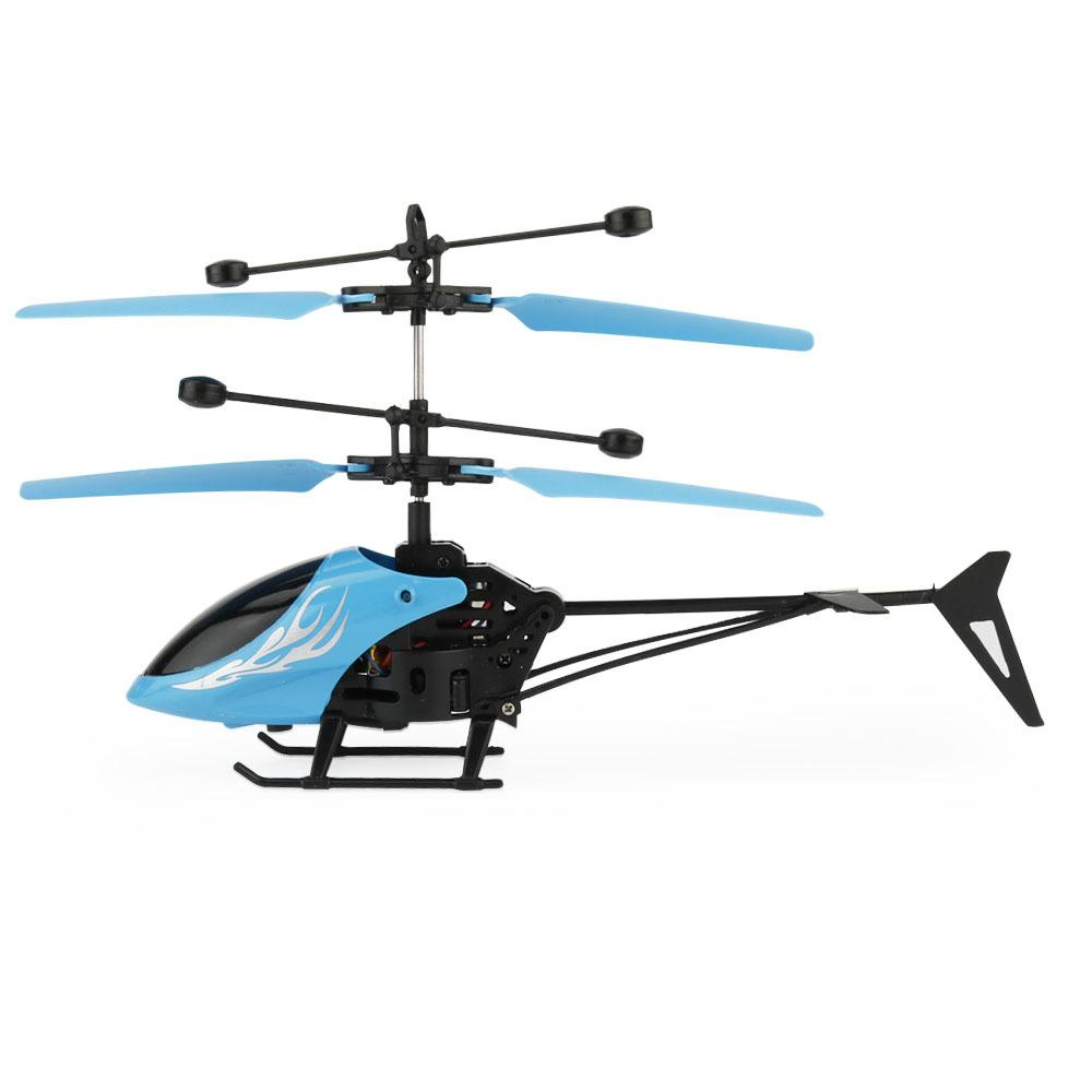 Flytec 69202 Micro 2CH Rc Flying Helicopter Radio Remote Control Aircraft For Kids Electric Toy