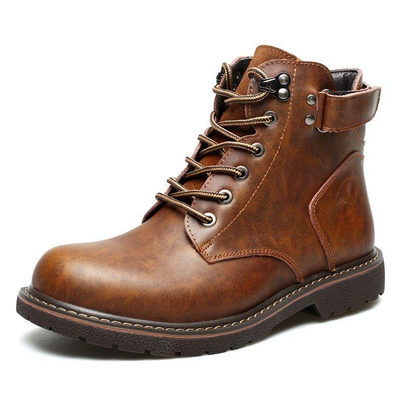 2018 Autumn Winter Men Boots Genuine