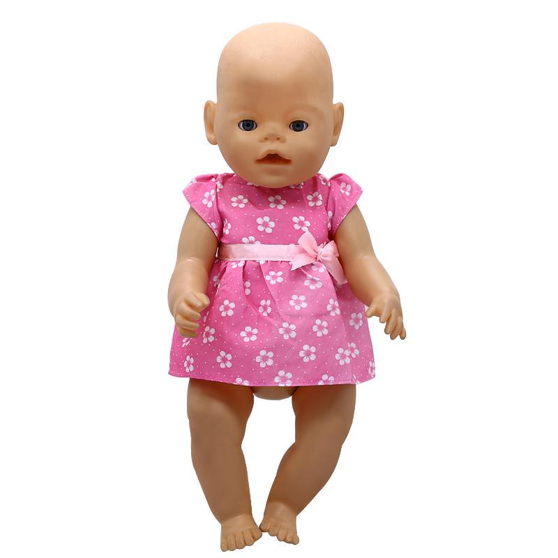 Compre Accesorios Para Muñecas Bebé Nacido Ropa Para Muñecas Es Princesa Linda Falda Vestido Fit 43 Cm Zapf Bebé Nacido Muñeca Regalo De Cumpleaños X