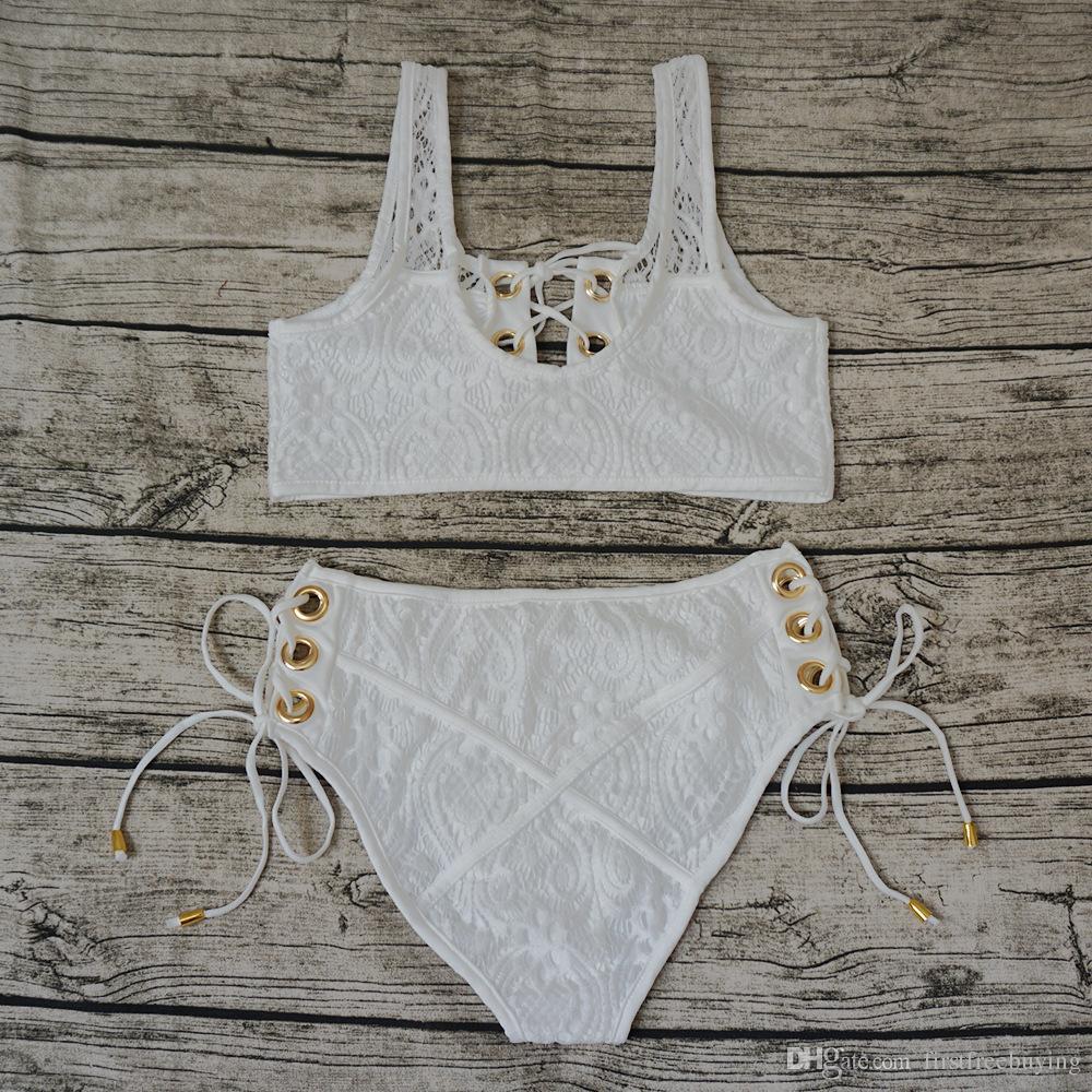 1 Set / lotto 2018 Più nuovo Bikini Set 2 pezzi Costumi da bagno per le donne Costume da bagno Beachwear Sexy Lady Costume da bagno Reggiseno Bikini Molti stili