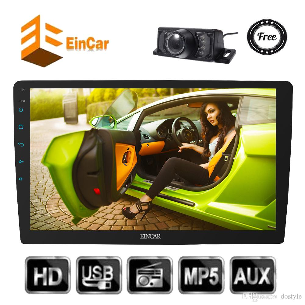 Double 2 Din Car Radio Stereo 10.1'' Android 7.1 Octa Core Head Unit GPS Map Navigation Receiver Phone Mirror-Link Bluetooth Hands-free