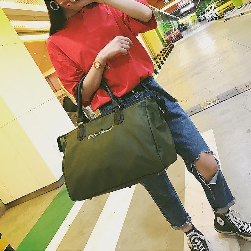 Moda de Grande Capacidade Saco de Esportes Bolsas de Grife Mulheres Saco de Viagem Feminino Marca Mão Bolso Sacos De Bagagem Sacos De Fitness À Prova D 'Água Masculinos