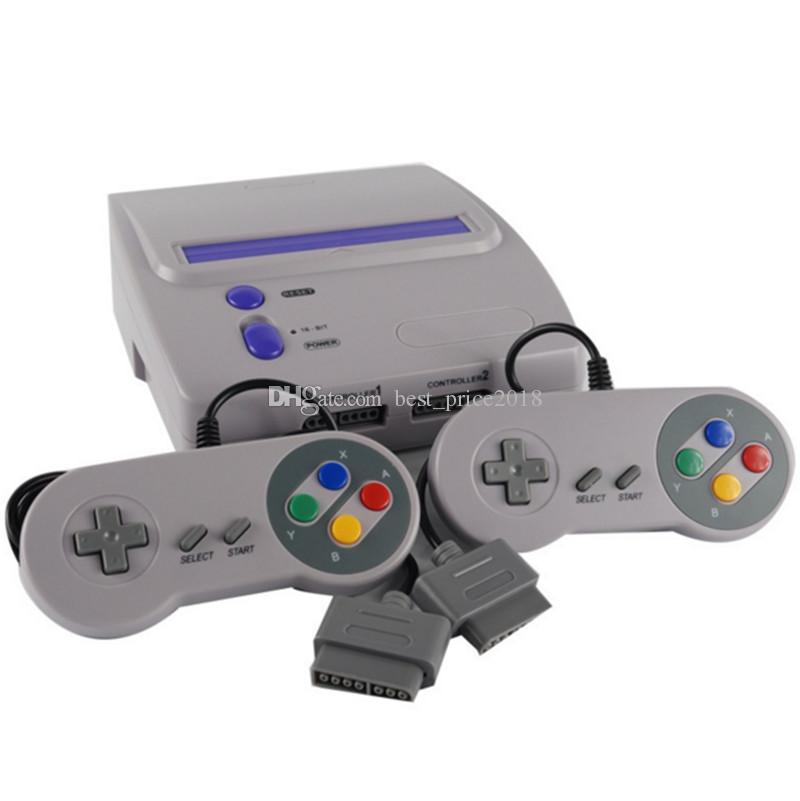2018 Console di gioco MEGA DRIVE da 16 bit per SEGA MD Game Player con 2 controller cablati Supprot Micro SD card