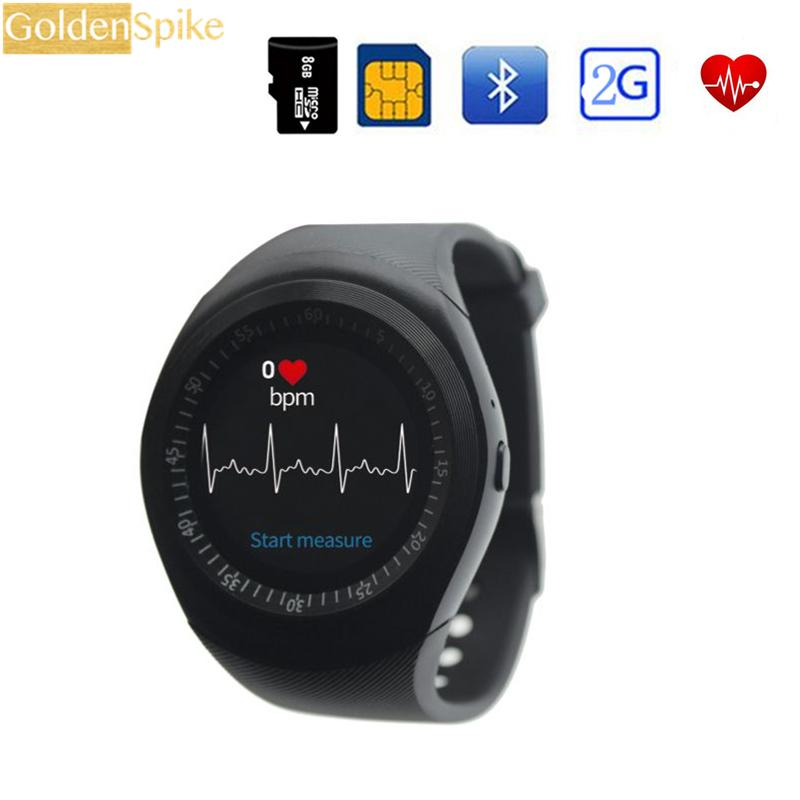 in stock T1 circle screen Smart Watch support Nano SIM Card and TF Card With Heart Rate Monitor Whatsapp&Twitter APP smartwatch