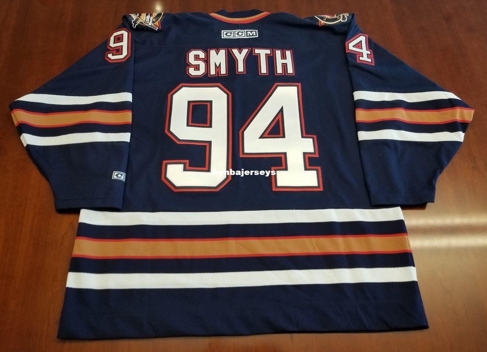 Ryan Smyth Vintage Edmonton Oilers CCM Jersey