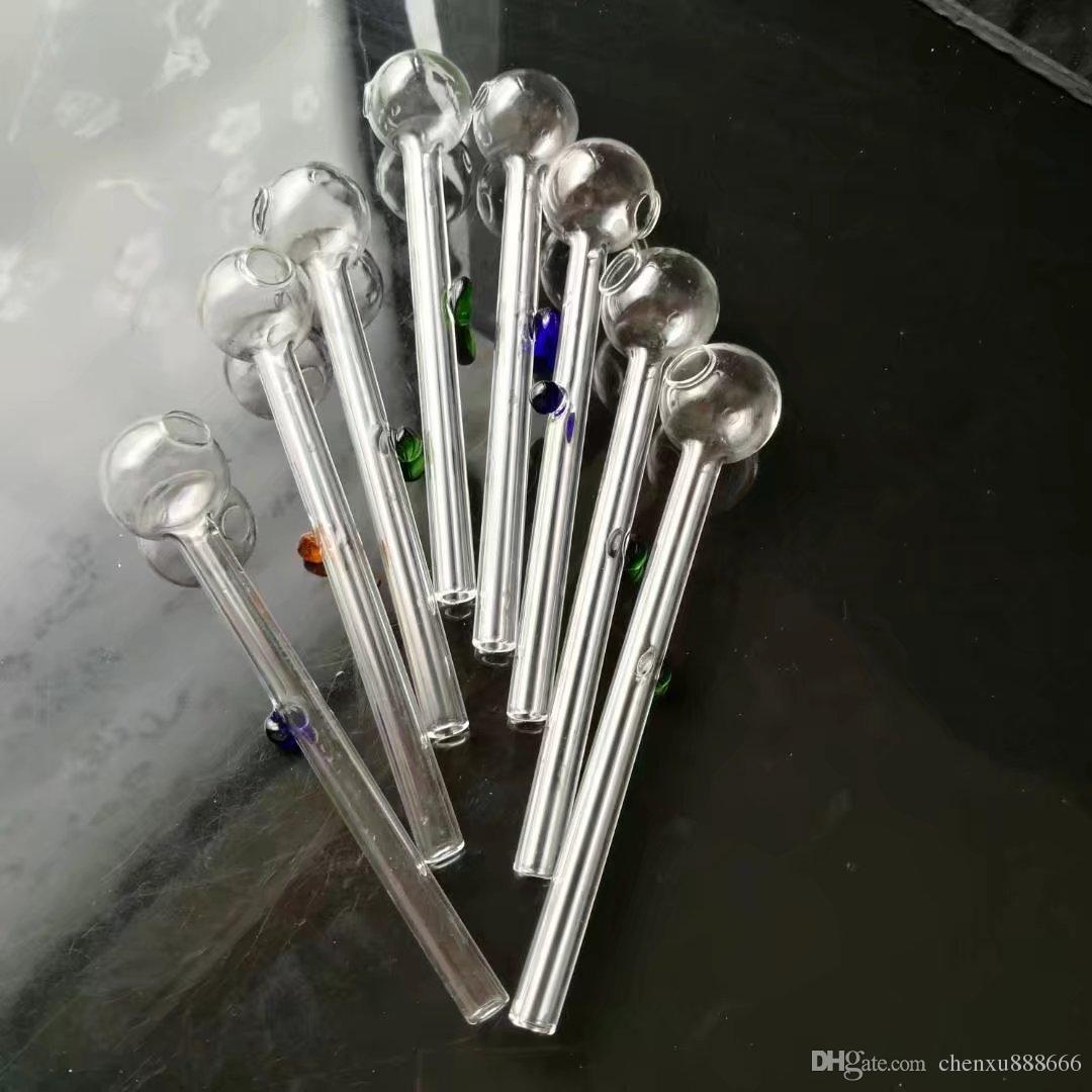 Цвет поддержки длинный горшок, оптовые бонги трубы горелки водопроводные трубы стеклянная труба буровые установки для курения бесплатная доставка