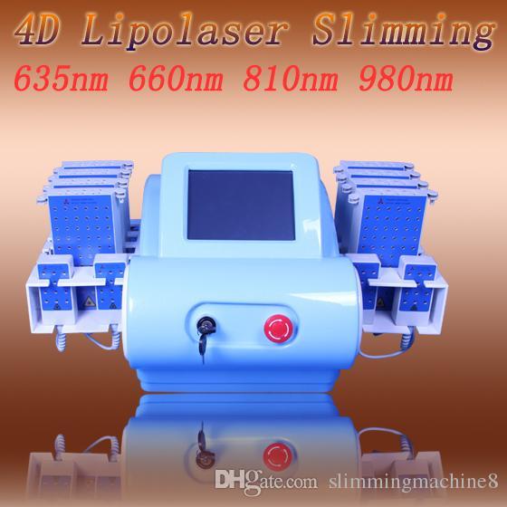 Meilleur prix rapide et efficace minceur machine lipolaser perte de poids 12 Pads lipolaser minceur 650nm corps minceur système
