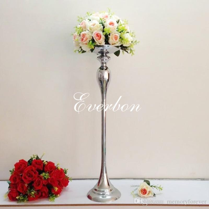 75cm Height Tall Silver Metal Flower Vases For Wedding Centerpieces Event Decoration Flower Stand Hodler Wedding Decor Ideas Pictures Wedding Decoration Accessories From Memoryforever 28 21 Dhgate Com