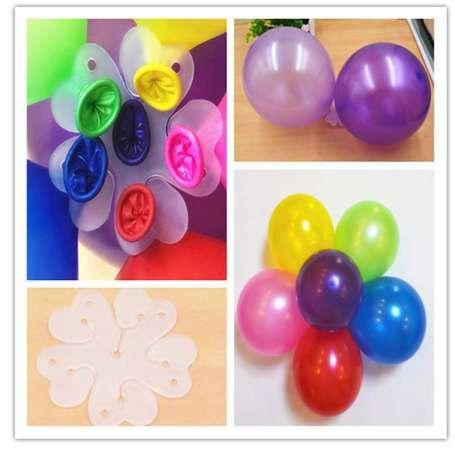 10 أجزاء مقطع بالون بالون الهواء الثابتة تزيين سوبر هيو عدد إلكتروني لطيف الهيدروجين airballoon المشبك مجلد عيد ميلاد الحزب