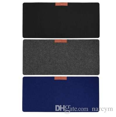 Soft And Wearable Office Computer Desk Mat Modern Table Wool Felt Laptop Cushion Large Mouse pad Gaming mouse pad